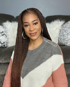 Xtrend 40Roots/Pack 34'' Senegalese Twist Crochet Hair Twist Pre-Stretched Loop Synthetic Braiding Hair Senegalese Twist Crochet Hair, Senegalese Twist Hairstyles, Crochet Braids Hairstyles, Braided Hairstyles, Wig Styles, Braid Styles, Natural Hair Braids, Natural Hair Styles, Braiding Your Own Hair