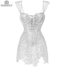 Brand New For 2017 Women's Sexy Stea... Check It Out!http://crystalsclothingcure.com/products/womens-sexy-steampunk-corset-lace-up-gothic-lacework-waist-trainer-corsets?utm_campaign=social_autopilot&utm_source=pin&utm_medium=pin