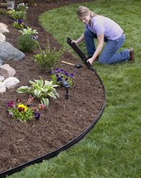 Plastic Garden Edging Ideas image of brick border edging Garden Edging Ideas On Connect Landscape Edging Garden Harvest Supply