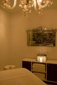Cowshed Spa - mirror, mirror on the wall...