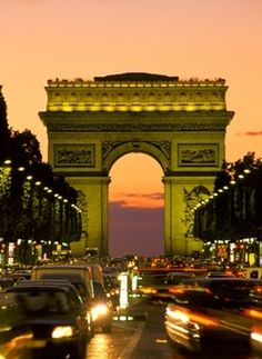 Arc de Trioumphe. Its amazing.