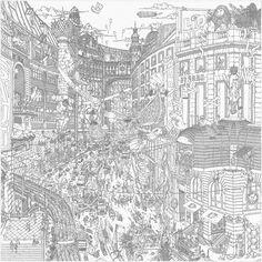 Hermès - Le Grand Prix du Faubourg, signé Ugo Gattoni