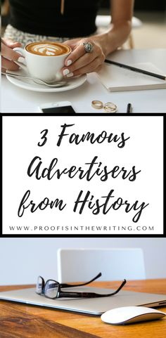 Nab your F R E E copy of this ebook featuring 3 advertising icons. Read their stories and see over a dozen of their famous ads.   #readinglist #advertising #marketing #ebook #reading #writer #freelancewriter