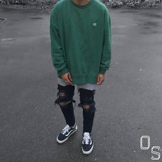 """7,063 Likes, 83 Comments - #OutfitSociety (@outfitsociety) on Instagram: """"1 Word To Describe The Outfit. @nasithhh #OutfitSociety. Champion Hoodie and Tee LPM Jeans and…"""""""