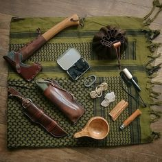 Outdoor Accessories - Camping, Trekking, Survival - Re-Wilding Bushcraft Gear, Bushcraft Camping, Camping Survival, Camping Gear, Outdoor Camping, Bushcraft Equipment, Backpacking, Survival Project, Survival Tools