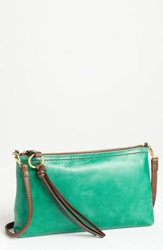 Hobo 'Darcy' Leather Crossbody Bag available at #Nordstrom.  Also in pink, stone, or black.
