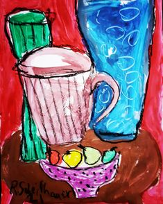 My still lives gouache on paper Gouache, Still Life, Abstract, Paper, Painting, Art, Summary, Art Background, Painting Art