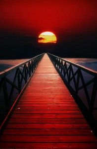 Red Sky by Peter From
