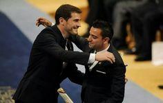 Iker Casillas - Xavi Hernandez