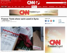 http://edition.cnn.com/2013/06/04/world/meast/syria-civil-war/index.html?hpt=hp_t1 French tests show Sarin gas used in Syria | #Indiegogo #fundraising http://igg.me/at/tn5/