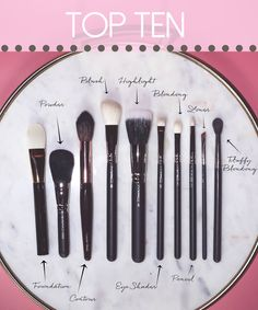 Top 10 Makeup Brushes Every Woman Should Own | Beauty Over 40