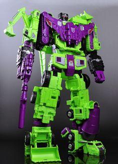 Transformers Unite Warriors Devastator