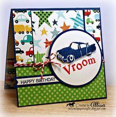Rocky Mountain Paper Crafts: Little Boy Birthday Card
