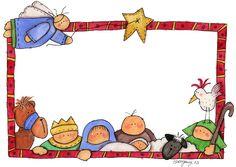 Christmas Border, Christmas Images, Christmas Colors, All Things Christmas, Christmas Nativity, Christmas Clipart, Christmas Gift Tags, Christmas Cards, Merry Christmas