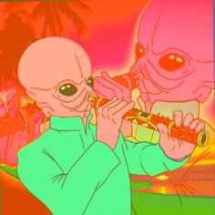 New party member! Tags: star wars aliens may the 4th star wars day bith figrin d'an and the modal nodes