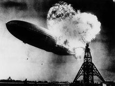 En el año 1937, el incendio del Zeppelin
