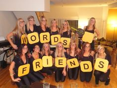 words with friends group Halloween costume idea! Cute Group Halloween Costumes, Homemade Halloween Costumes, Last Minute Halloween Costumes, Costumes For Teens, Cute Costumes, Halloween Kostüm, Costume Ideas, Awesome Costumes, Halloween Camping