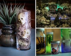 Dollar Store Halloween Decorations   19 Spooky & Fun DIY Ideas to Throw a Halloween Party at Your House! by DIY Ready at http://diyready.com/19-spooky-fun-diy-ideas-to-throw-a-halloween-party-at-your-house/