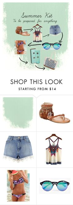 """""""Summer musts"""" by eleonora199 on Polyvore featuring Nature Breeze, Miss Selfridge, Boohoo and Billabong"""