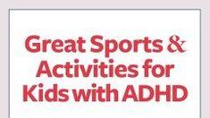 Active kids are healthy kids, but what are the best sports for kids with ADHD / ADD? Learn why martial arts, swimming, tennis, and 7 others are smart choices for children with attention deficit. Adhd Symptoms In Children, Anxiety In Children, Adhd Kids, Sports Activities For Kids, Adhd Activities, How To Play Tennis, How To Treat Anxiety, Negative Thinking, Learning Resources