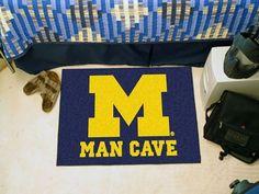 "Michigan Man Cave Starter Rug 19""x30"""