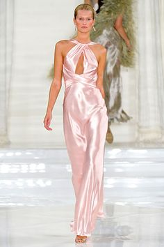 Walking down the aisle in this could be amazing Ralph Lauren spring 2012