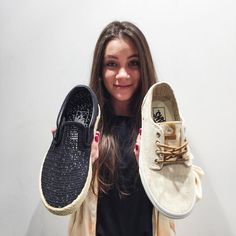 Instagram #skateboarding photo by @vansbluecity - Dwa nowe modele na lato dla Pań. Slip-On jako przewiewne espadryle i zgrabne Brigaty.  Które wybieracie?  #slipon#brigata#espadrilles#esp#black#white#summer#girls#girl#fun#happy#polishgirl#vansbluecity#vans#vanslife#skateboarding#skatelife#offthewall#warszawa#bluecity#deskorolka#warsaw. Support your local skate shop: SkateboardCity.co