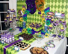 Mardi Gras/Fat Tuesday Mardi Gras Party Ideas | Photo 7 of 10 | Catch My Party