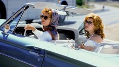 Thelma And Louise - Publicity still of Susan Sarandon & Geena Davis. The image measures 3072 * 2048 pixels and was added on 12 September Woman Movie, I Movie, Movie Stars, Thelma And Louise Movie, Ballad Of Lucy Jordan, Geena Davis, Susan Sarandon, Film Aesthetic, Valley Of The Dolls