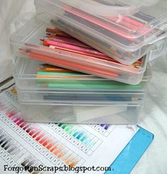 20 Clever Ways to Organize Your Coloring Supplies | Marker storage ...