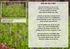 Een arm om je heen. Meer gedichten, quotes en kleurplaten op www.dichter-bij.nl