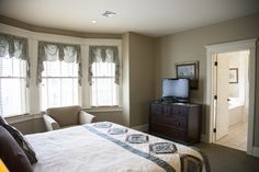 Luxury guest rooms at The Inn at Kitchen Kettle Village live up to their name. Luxury Rooms, Lancaster County, Kettle, Curtains, Kitchen, Furniture, Home Decor, Pour Over Kettle, Cuisine