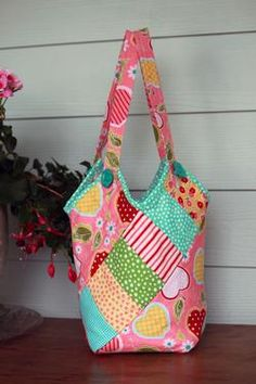 How Cute is That Bucket Bag Pattern Download by Jo-Lydia's Attic. Available now at connectingthreads.com