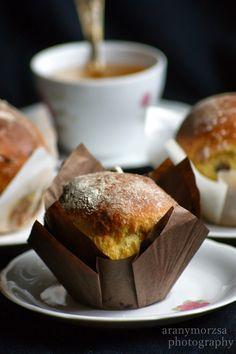 Blog a szenvedélyeimről: sütés, főzés, ötvösmunkák, állatok, fotózás. French Toast, Muffin, Food And Drink, Pudding, Drinks, Breakfast, Cake, Blog, Drinking