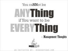 Management Thought of the Day, via Flickr. by www.midnightcake.com
