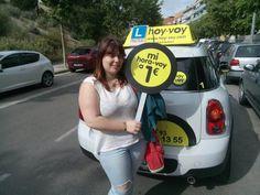 hora-voy de la setmana CARLA! #hoyvoy #autoescuela #mataro