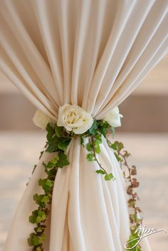 Not as much green, but have our ivory, and blush flowers with a little of the green, for the ceremony drapery wedding drapery Floral Wedding, Wedding Flowers, Blush Flowers, Wedding Bouquet, Wedding Tent Decorations, Decor Wedding, Wedding Table, Table Decorations, Decoration Evenementielle
