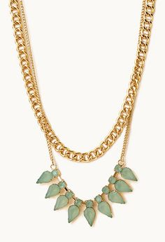 Standout Layered Chain Necklace on Wanelo