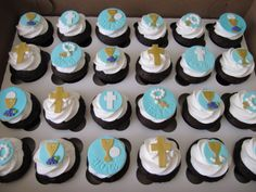 first communion cupcakes - Google Search