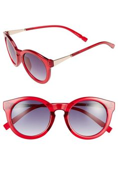 Sole Society 52mm Oversize Round Sunglasses | Nordstrom