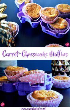 Ostern kann kommen. Carrot-Cheesecake Muffins