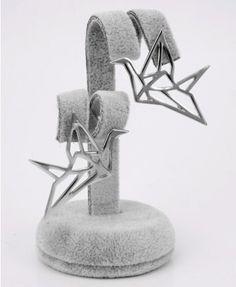 Cutout Bird Flying Earrings - Jewellery - Accessories