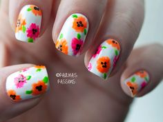 25 Trendy Neon Nail Art Designs | World inside pictures