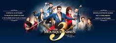 """""""Les 3 Mousquetaires"""" Paris 2016"""