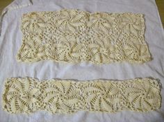 Crocheted Doily Shabby Chic White Doily by VintagePlusCrafts, $12.00