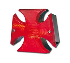 Maltese Cross Tailight with LED