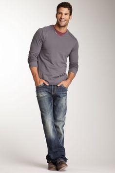 Silver Jeans Zac Surplus Straight Leg Jean