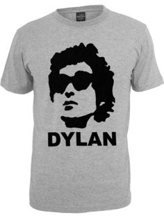 Amazon.com: Bob Dylan Stencil Classic T-shirt: Clothing