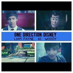 Liam as Woody. Haha!! It's funny because I have to read a toy story story today so I'm going to think of this now...