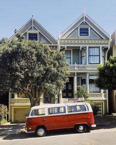 Van life in San Francisco.